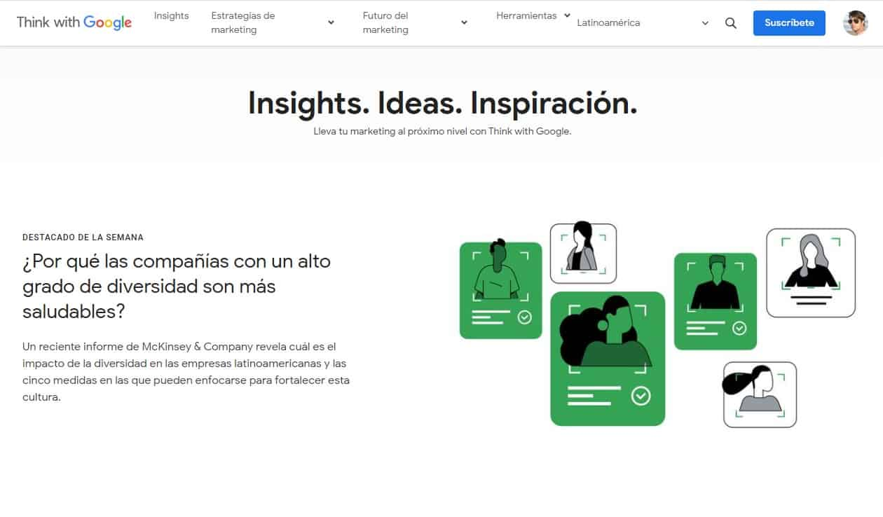 Think with Google insights