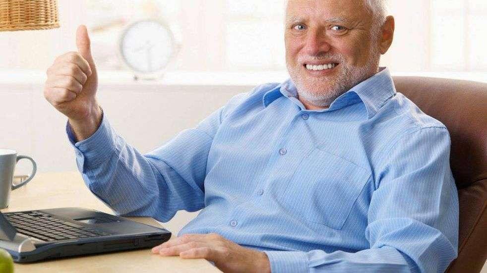 se viene el post que Harold no se podía perder Harold etiqueta h1 h2 h3 h4 h5 h6 meme